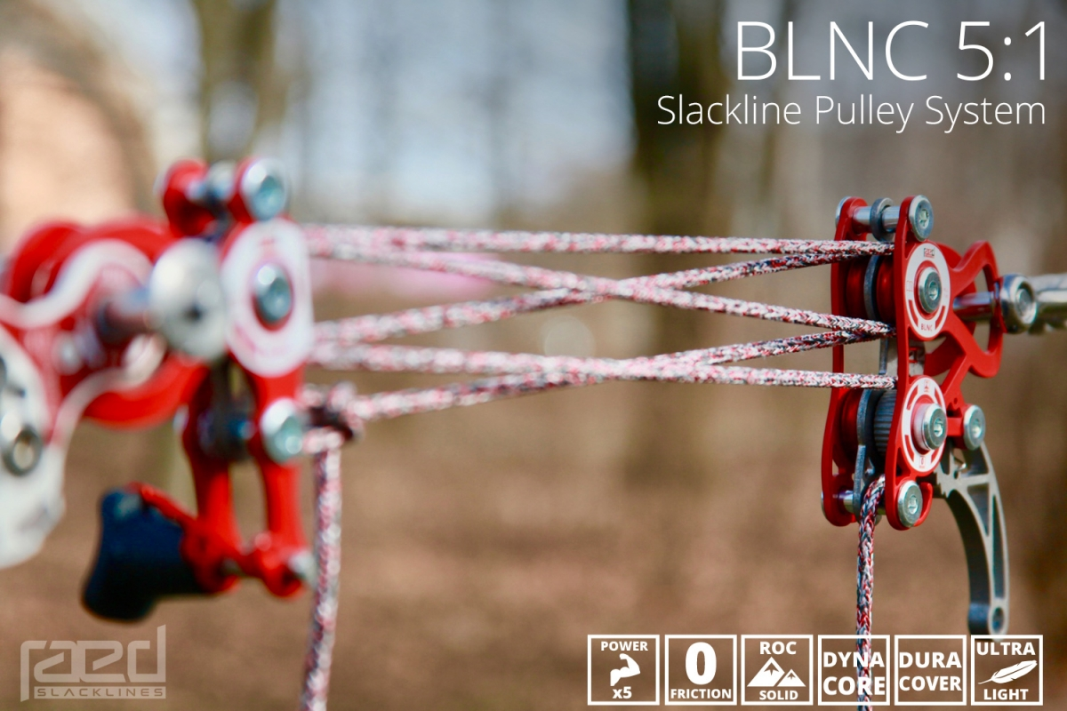 BLNC 5:1 pulley system
